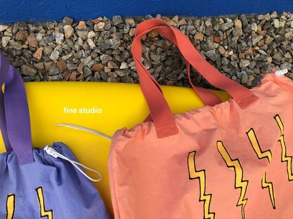 FINE STUDIO - Korean Children Fashion - #Kfashion4kids - Thunder Beach Bag - 2