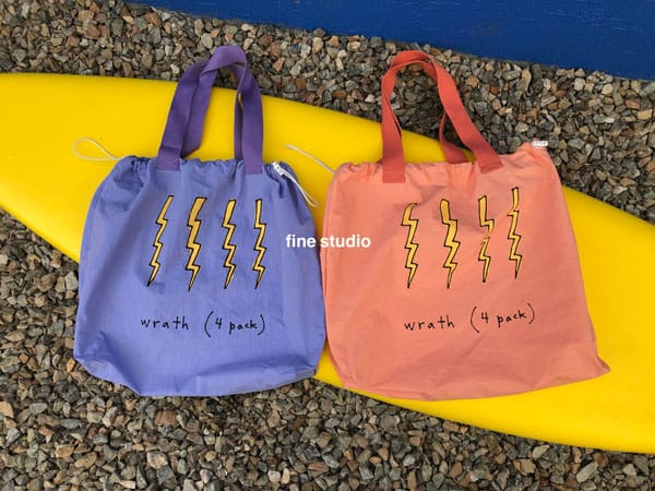 FINE STUDIO - Korean Children Fashion - #Kfashion4kids - Thunder Beach Bag - 3