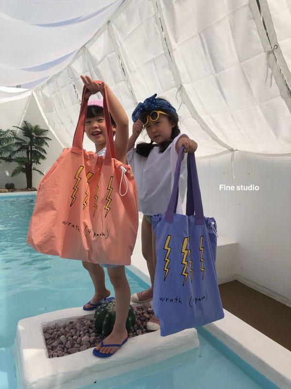 FINE STUDIO - Korean Children Fashion - #Kfashion4kids - Thunder Beach Bag - 5