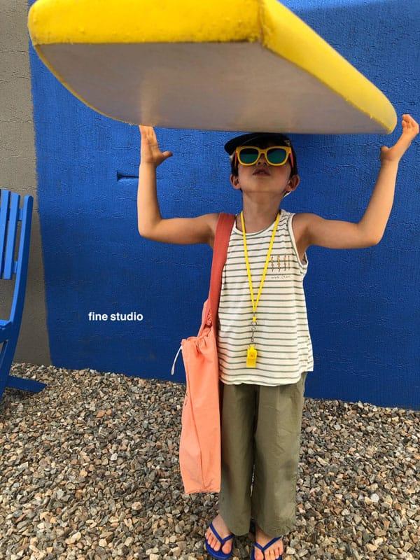 FINE STUDIO - Korean Children Fashion - #Kfashion4kids - Thunder Beach Bag - 7