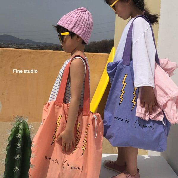 FINE STUDIO - BRAND - Korean Children Fashion - #Kfashion4kids - Thunder Beach Bag