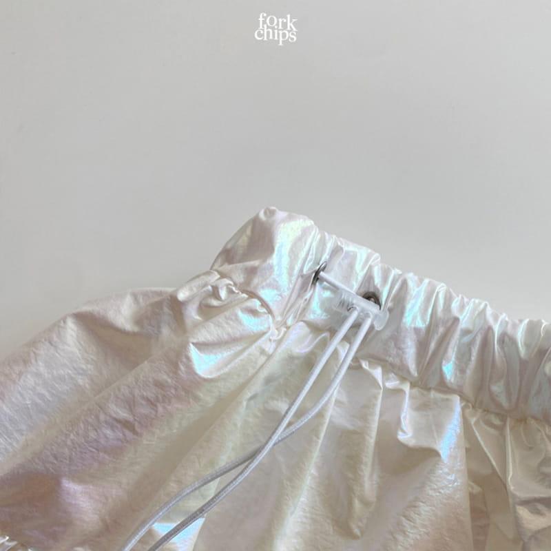 FORK CHIPS - Korean Children Fashion - #Kfashion4kids - Hologram Skirt Pants - 3