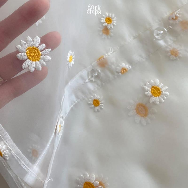 FORK CHIPS - Korean Children Fashion - #Kfashion4kids - Dandelion Blouse - 3
