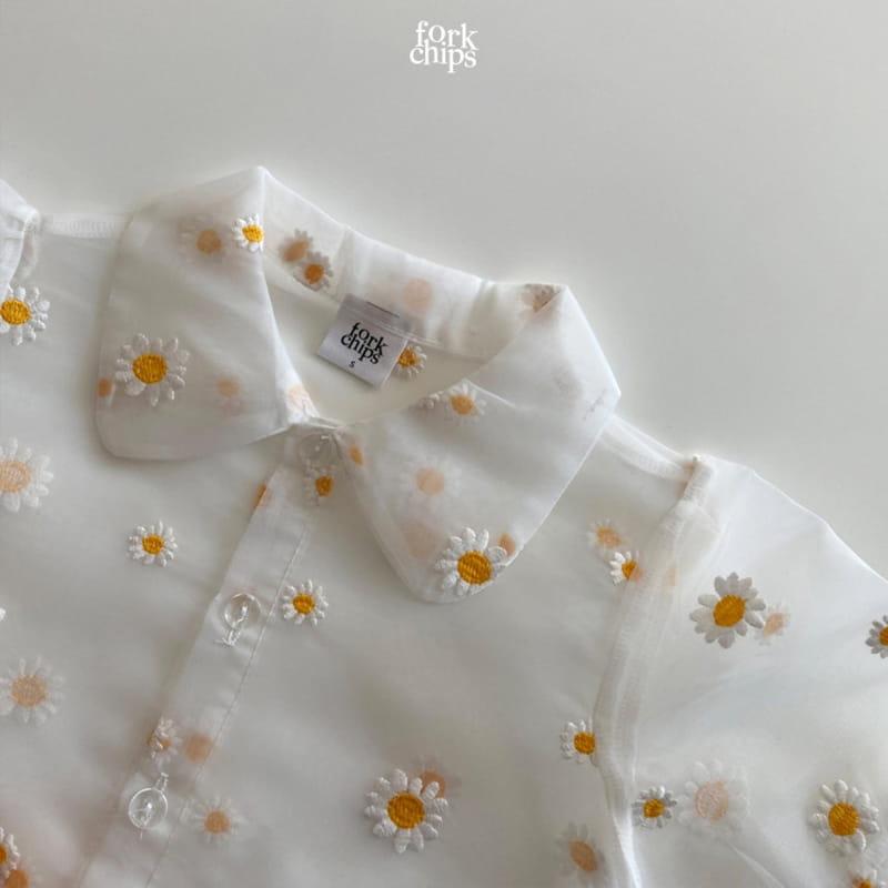 FORK CHIPS - Korean Children Fashion - #Kfashion4kids - Dandelion Blouse - 4