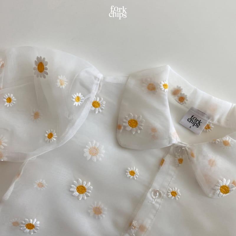 FORK CHIPS - Korean Children Fashion - #Kfashion4kids - Dandelion Blouse - 5