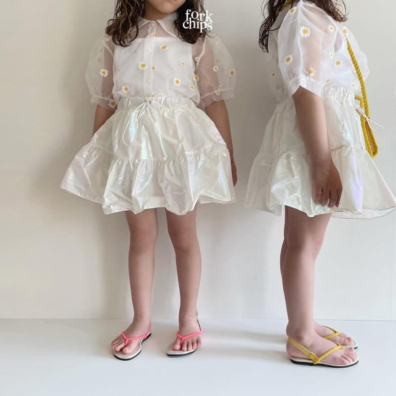 FORK CHIPS - Korean Children Fashion - #Kfashion4kids - Dandelion Blouse - 7