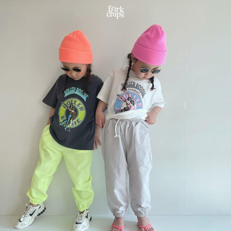 FORK CHIPS - Korean Children Fashion - #Kfashion4kids - Crack Jogger Pants - 10