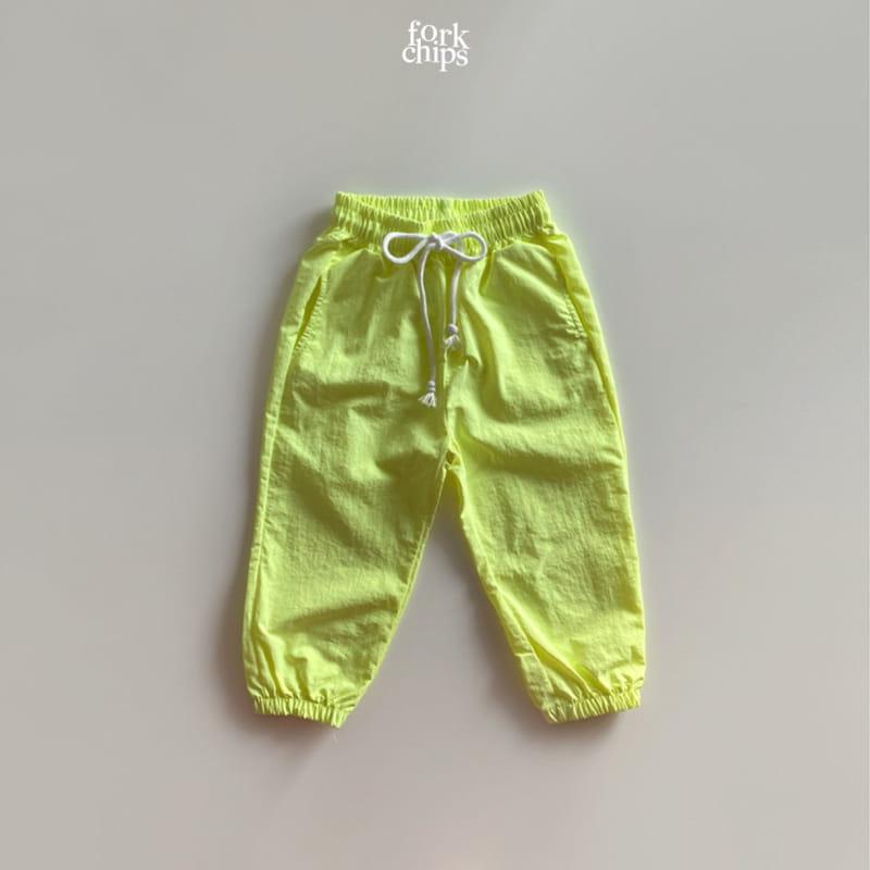 FORK CHIPS - Korean Children Fashion - #Kfashion4kids - Crack Jogger Pants - 3
