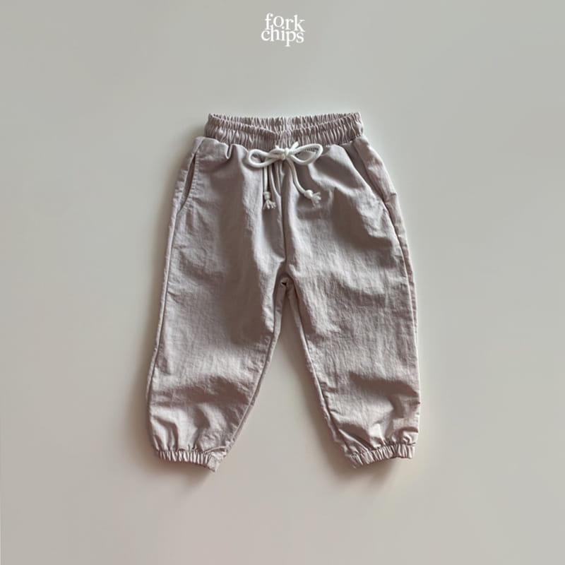 FORK CHIPS - Korean Children Fashion - #Kfashion4kids - Crack Jogger Pants - 5