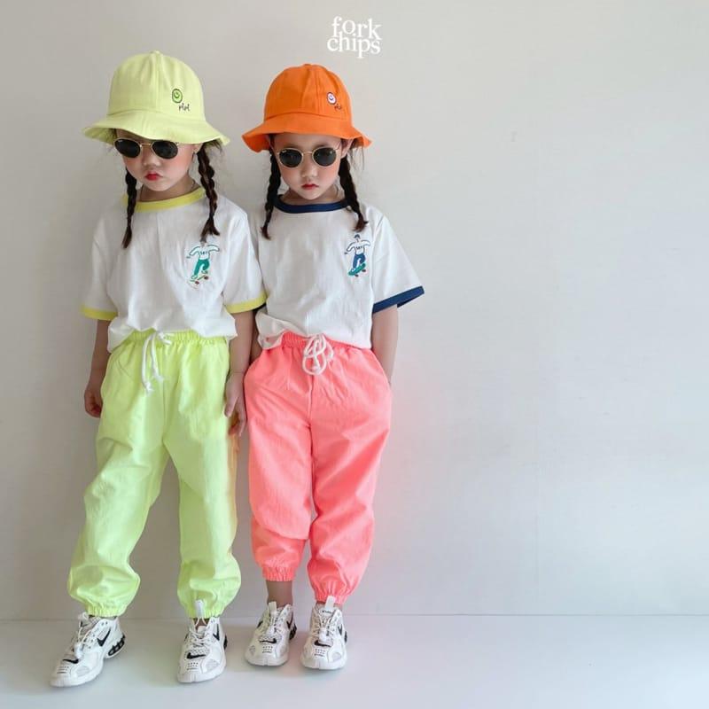 FORK CHIPS - Korean Children Fashion - #Kfashion4kids - Crack Jogger Pants - 9