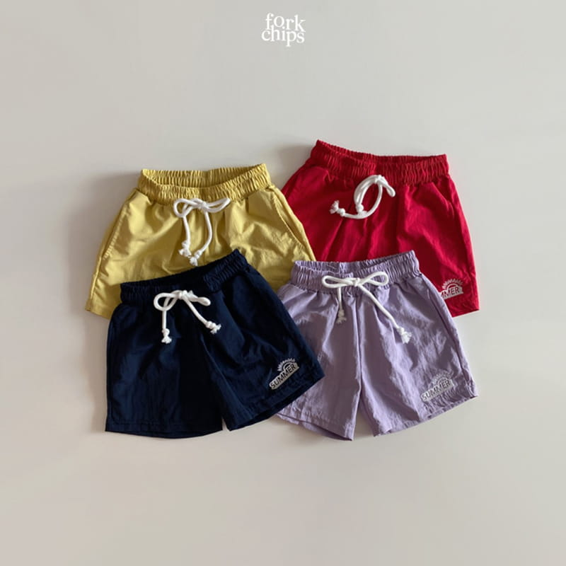 FORK CHIPS - Korean Children Fashion - #Kfashion4kids - Summer Runner Pants - 2