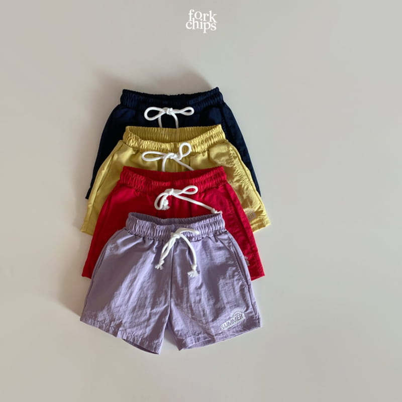 FORK CHIPS - Korean Children Fashion - #Kfashion4kids - Summer Runner Pants - 3