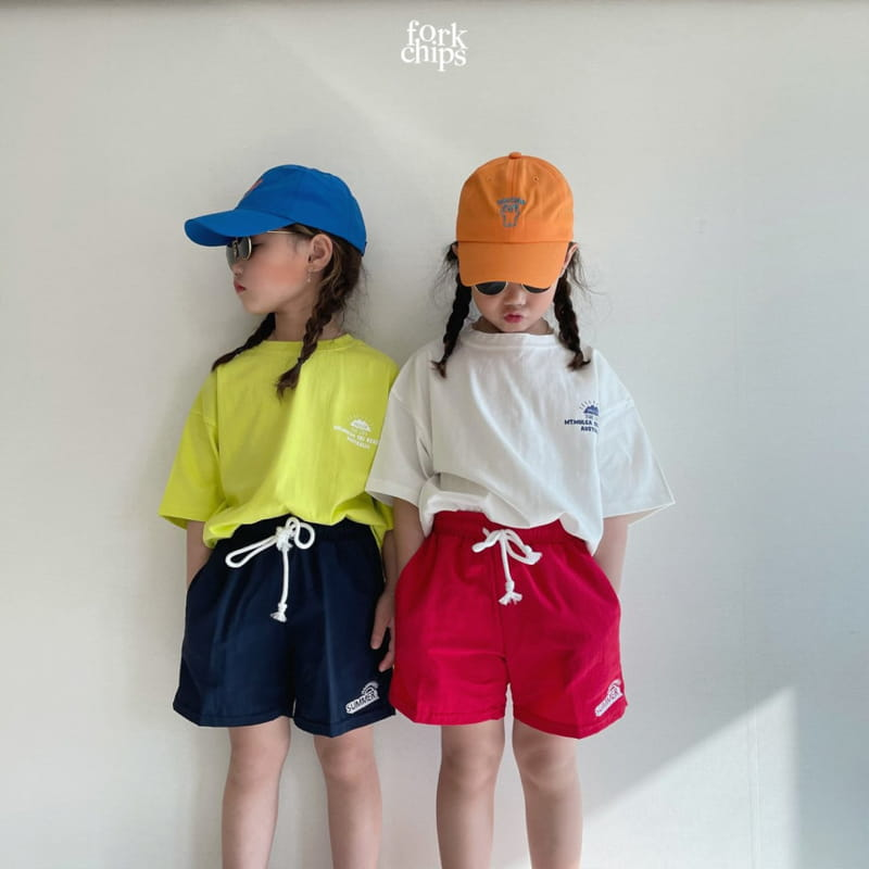 FORK CHIPS - Korean Children Fashion - #Kfashion4kids - Summer Runner Pants - 4