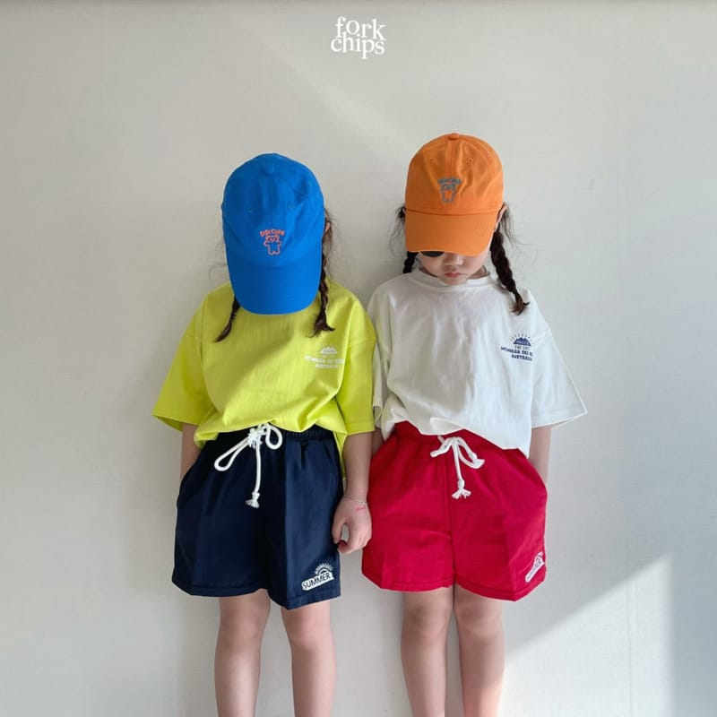 FORK CHIPS - Korean Children Fashion - #Kfashion4kids - Summer Runner Pants - 5