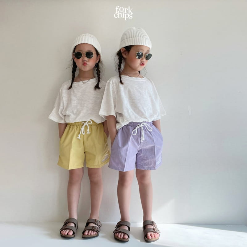 FORK CHIPS - Korean Children Fashion - #Kfashion4kids - Summer Runner Pants - 6