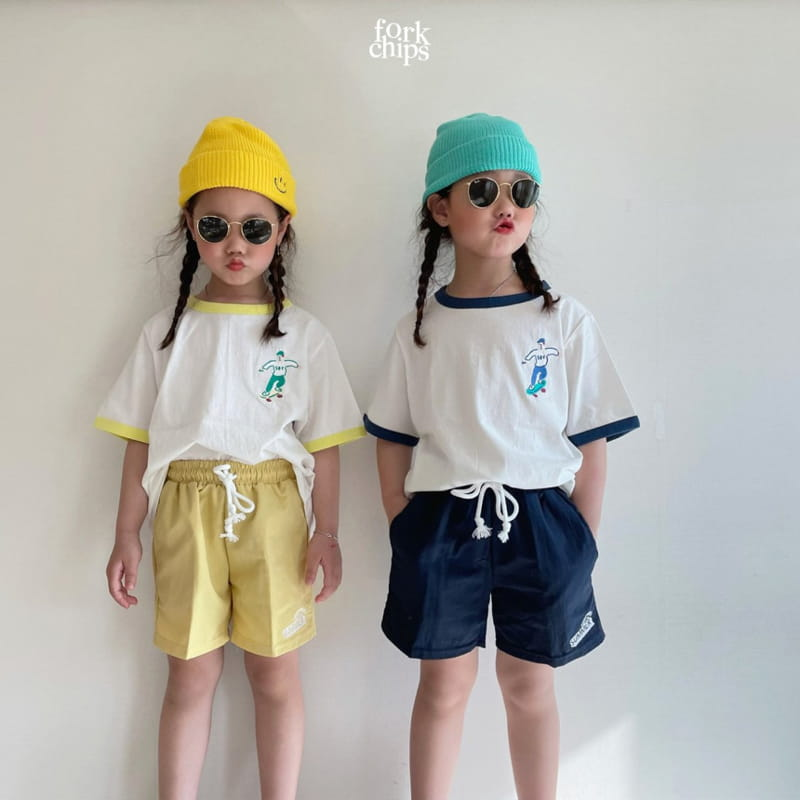 FORK CHIPS - Korean Children Fashion - #Kfashion4kids - Summer Runner Pants - 7