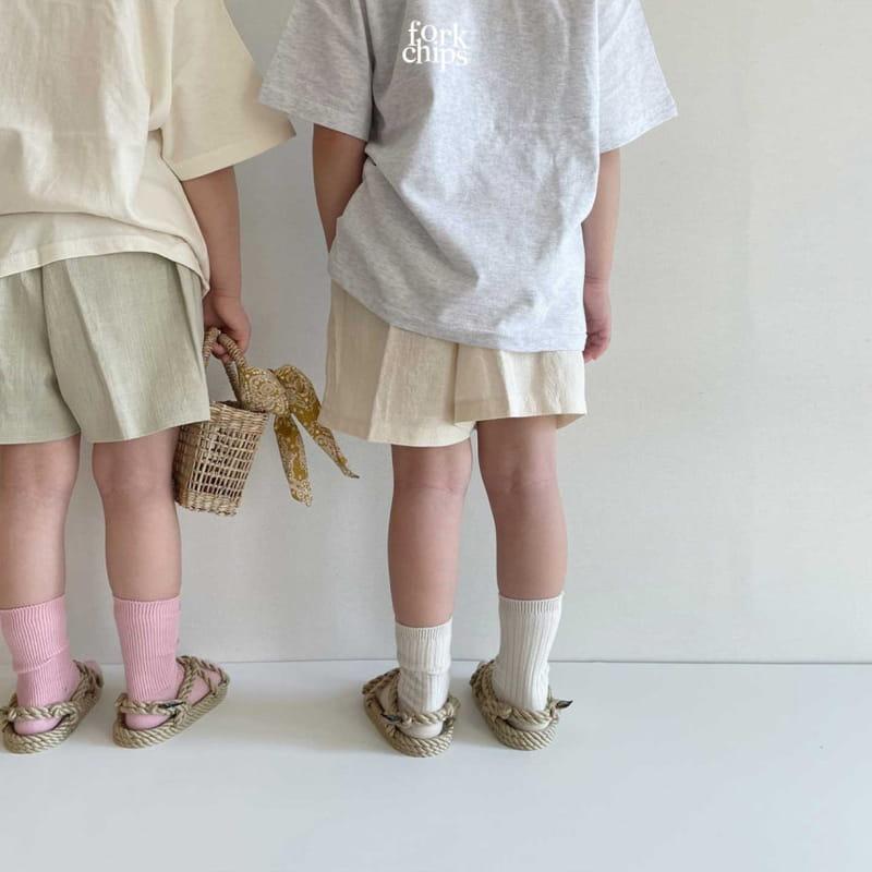 FORK CHIPS - Korean Children Fashion - #Kfashion4kids - Burney Tee - 7