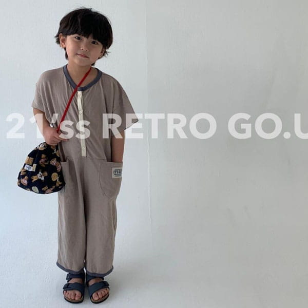 GO;U - Korean Children Fashion - #Kfashion4kids - Bear Bag