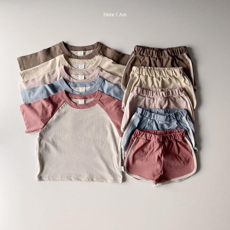 HERE I AM - Korean Children Fashion - #Kfashion4kids - New Everyday Top Bottom Set