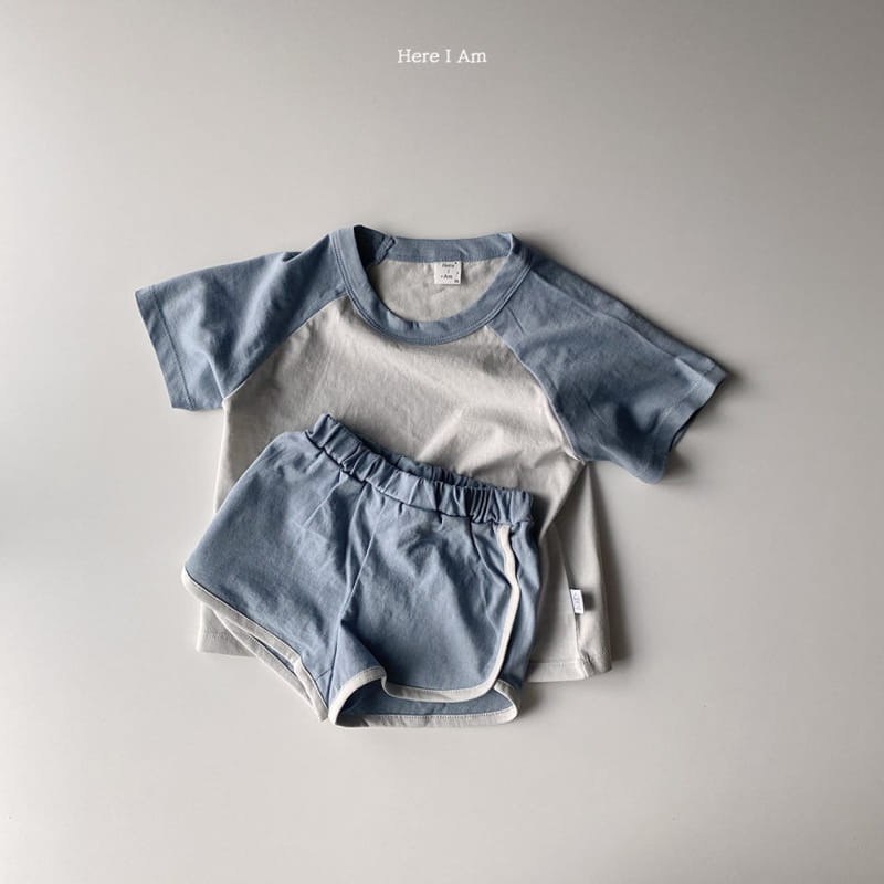 HERE I AM - Korean Children Fashion - #Kfashion4kids - New Everyday Top Bottom Set - 12