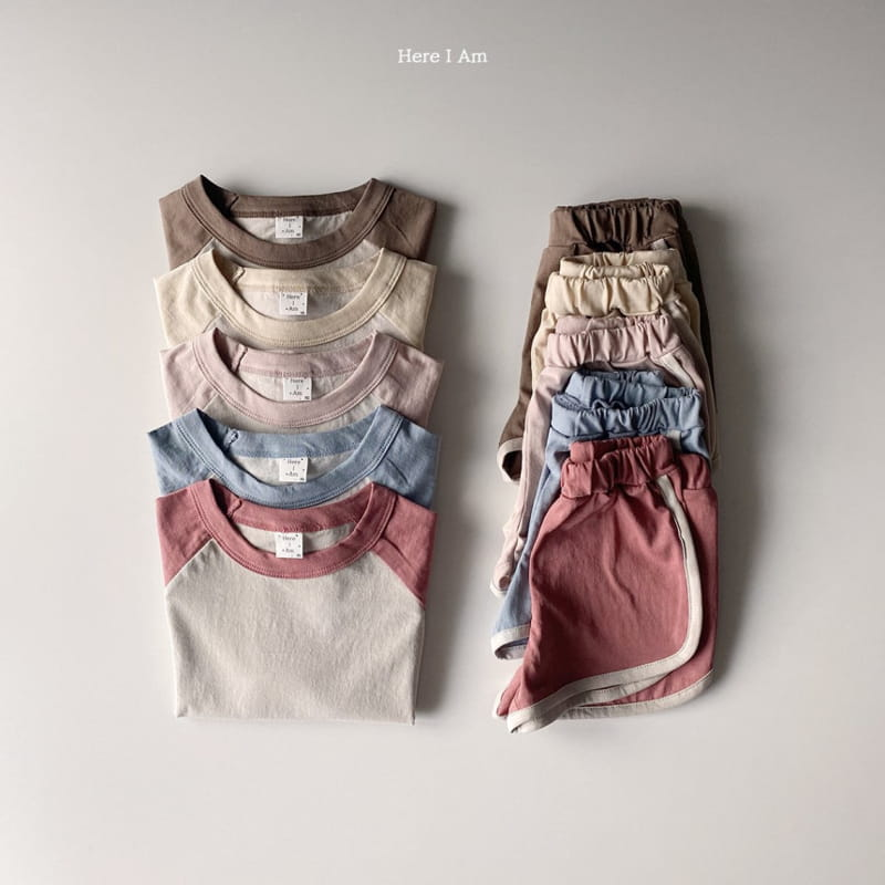 HERE I AM - Korean Children Fashion - #Kfashion4kids - New Everyday Top Bottom Set - 2
