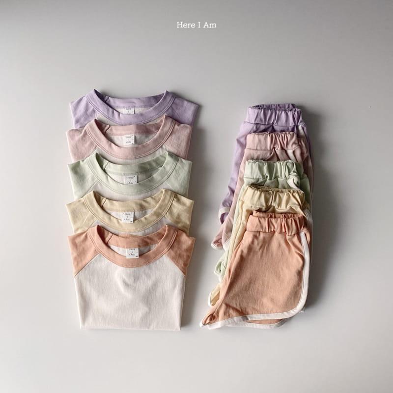 HERE I AM - Korean Children Fashion - #Kfashion4kids - New Everyday Top Bottom Set - 3