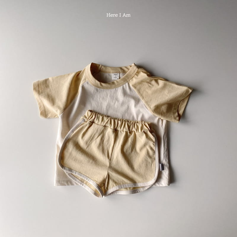 HERE I AM - Korean Children Fashion - #Kfashion4kids - New Everyday Top Bottom Set - 4