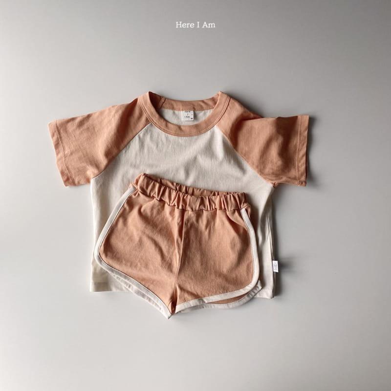 HERE I AM - Korean Children Fashion - #Kfashion4kids - New Everyday Top Bottom Set - 5