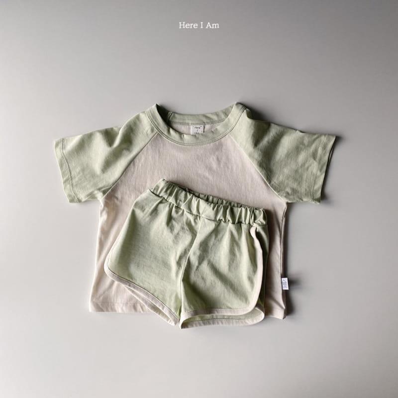HERE I AM - Korean Children Fashion - #Kfashion4kids - New Everyday Top Bottom Set - 6