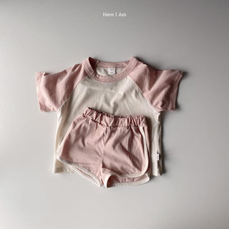 HERE I AM - Korean Children Fashion - #Kfashion4kids - New Everyday Top Bottom Set - 7