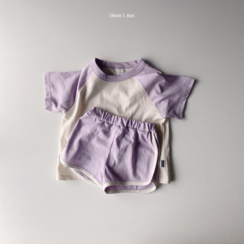 HERE I AM - Korean Children Fashion - #Kfashion4kids - New Everyday Top Bottom Set - 8