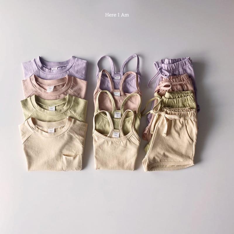 HERE I AM - Korean Children Fashion - #Kfashion4kids - 3 Way Top Bottom Set - 12