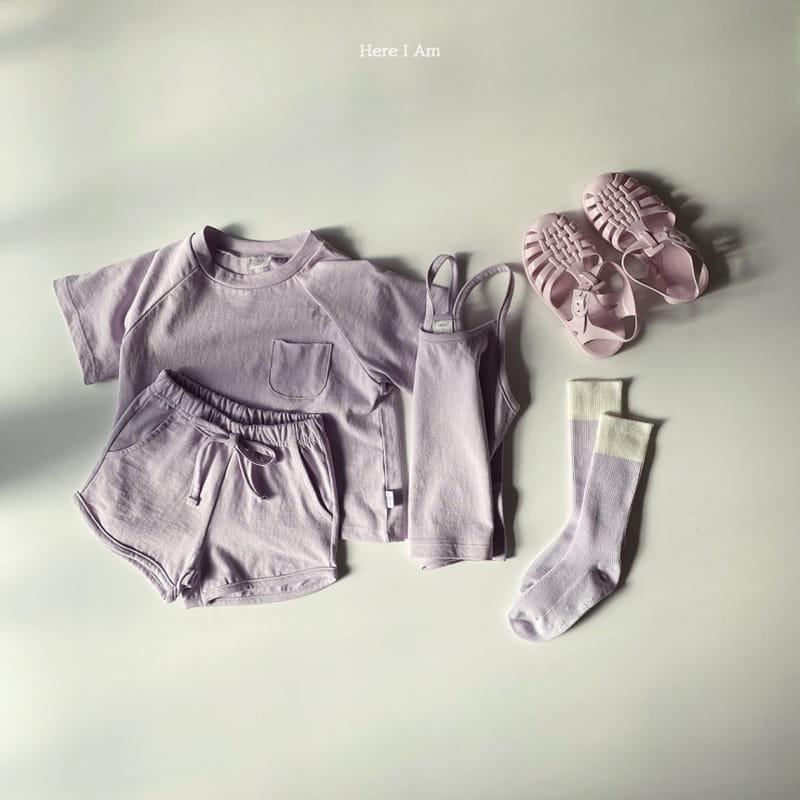 HERE I AM - Korean Children Fashion - #Kfashion4kids - 3 Way Top Bottom Set - 9