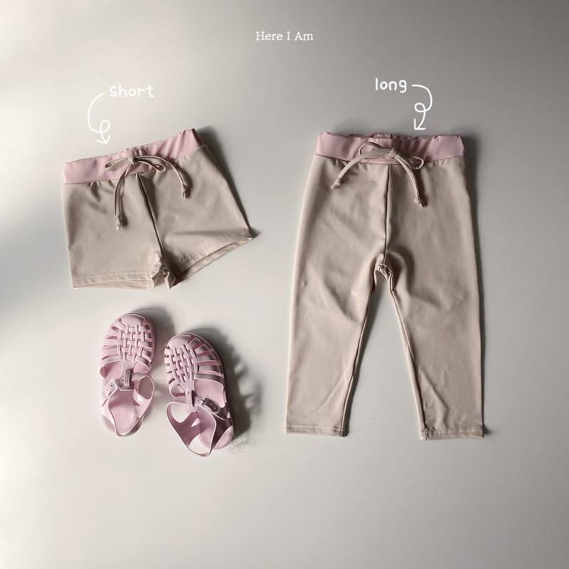 HERE I AM - Korean Children Fashion - #Kfashion4kids - Barney Rashguard Top Bottom Set - 2