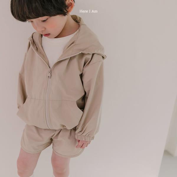 HERE I AM - Korean Children Fashion - #Kfashion4kids - Cos Anorak Bottom Pouch Set - 2