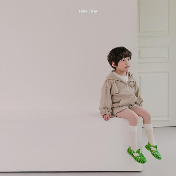 HERE I AM - Korean Children Fashion - #Kfashion4kids - Cos Anorak Bottom Pouch Set - 4