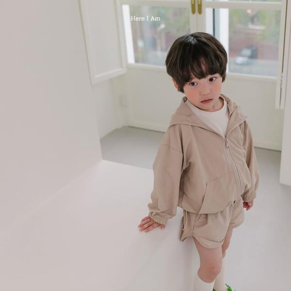 HERE I AM - Korean Children Fashion - #Kfashion4kids - Cos Anorak Bottom Pouch Set - 5