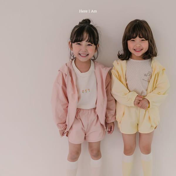 HERE I AM - Korean Children Fashion - #Kfashion4kids - Cos Anorak Bottom Pouch Set - 6