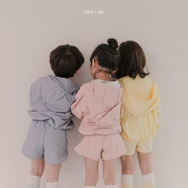 HERE I AM - Korean Children Fashion - #Kfashion4kids - Cos Anorak Bottom Pouch Set - 7