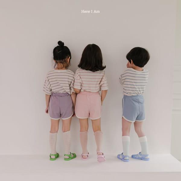 HERE I AM - Korean Children Fashion - #Kfashion4kids - Willy Stripes Top Bottom Set - 5