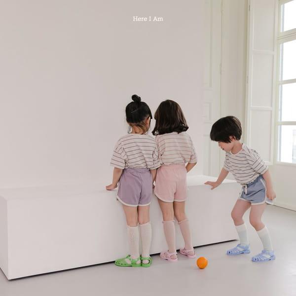HERE I AM - Korean Children Fashion - #Kfashion4kids - Willy Stripes Top Bottom Set - 6