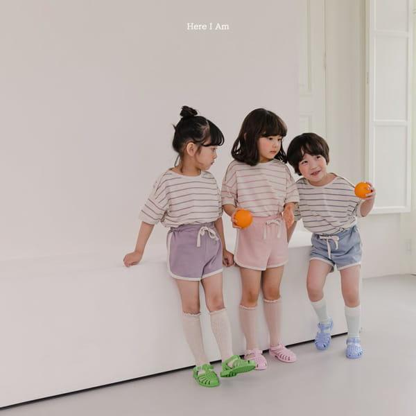 HERE I AM - Korean Children Fashion - #Kfashion4kids - Willy Stripes Top Bottom Set - 7
