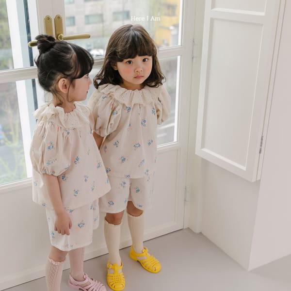 HERE I AM - Korean Children Fashion - #Kfashion4kids - Olivia Top Bottom Set - 2