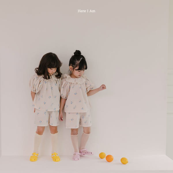 HERE I AM - Korean Children Fashion - #Kfashion4kids - Olivia Top Bottom Set - 4