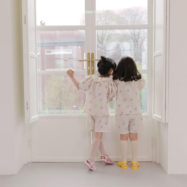 HERE I AM - Korean Children Fashion - #Kfashion4kids - Olivia Top Bottom Set - 6