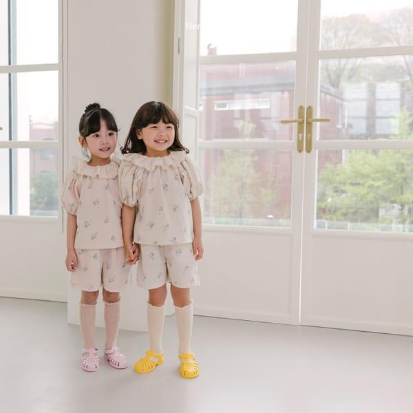 HERE I AM - Korean Children Fashion - #Kfashion4kids - Olivia Top Bottom Set - 7
