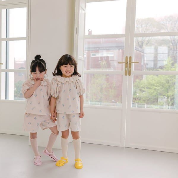 HERE I AM - Korean Children Fashion - #Kfashion4kids - Olivia Top Bottom Set - 8