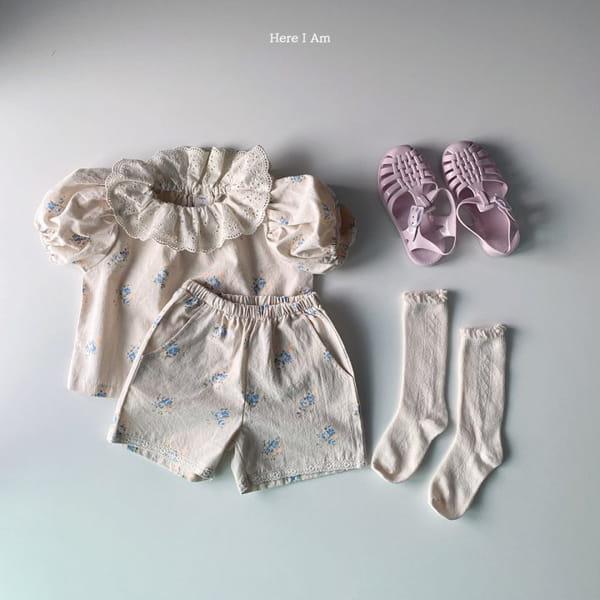 HERE I AM - Korean Children Fashion - #Kfashion4kids - Olivia Top Bottom Set - 9
