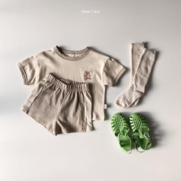 HERE I AM - Korean Children Fashion - #Kfashion4kids - Summer Animal Top Bototm Set - 10