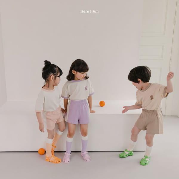 HERE I AM - Korean Children Fashion - #Kfashion4kids - Summer Animal Top Bototm Set - 2